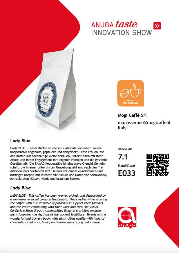 Lady Blue al Taste Innovation Show
