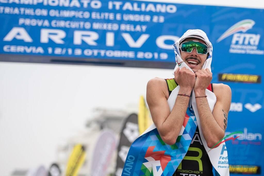 Michele Sarzilla - Campionato Italiano Triathlon Olimpico 2019