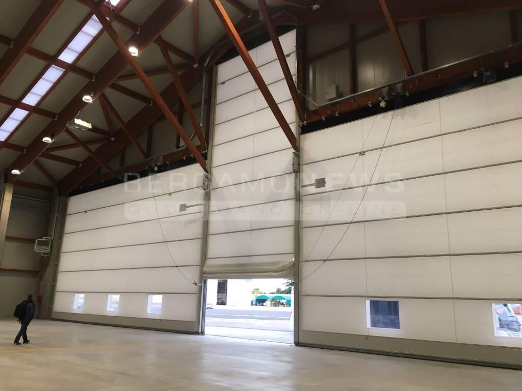 Orio, inaugurato il terzo hangar Ryanair per la manutenzione