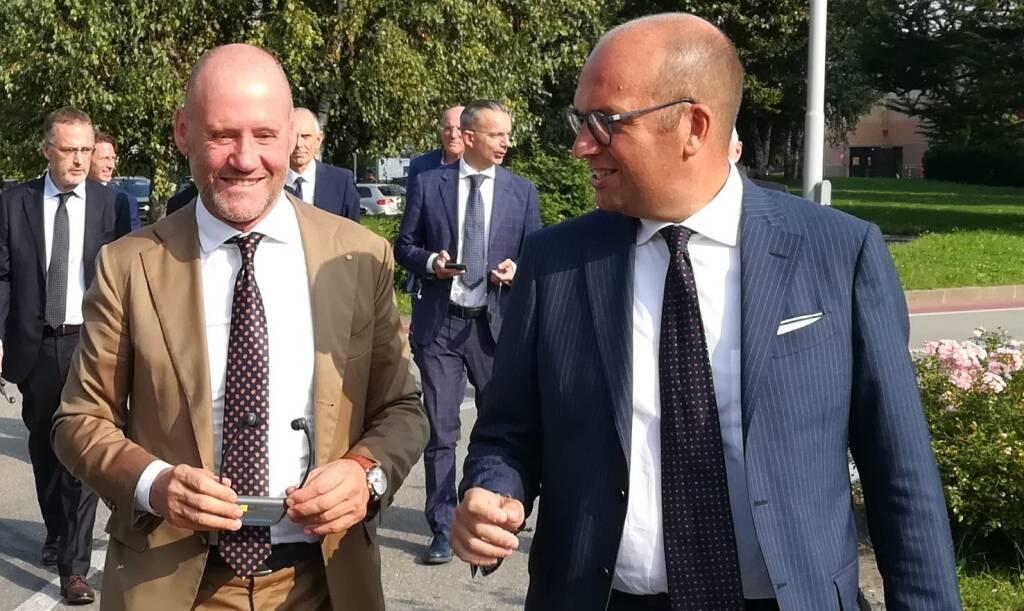 presidente del Gruppo Meccatronici di Confindustria Bergamo Giorgio Donadoni.