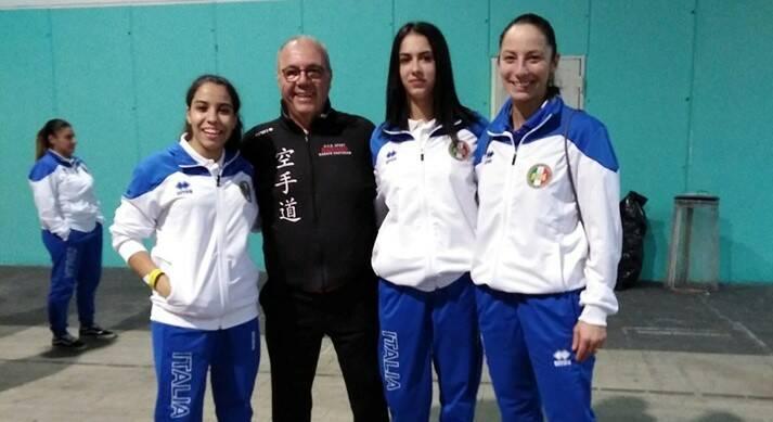 Sonia Farah e Bassmala Drissi karate