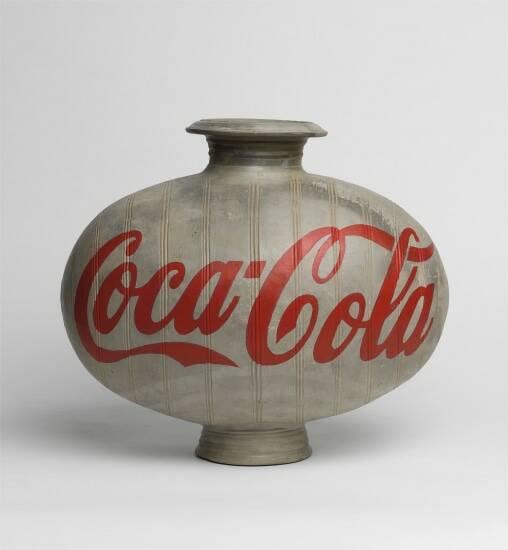 ai weiwei coca cola vase