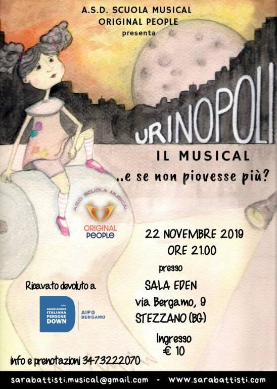 """A Stezzano il musical """"Urinopoli - E se non piovesse più?"""" - BergamoNews - BergamoNews"""
