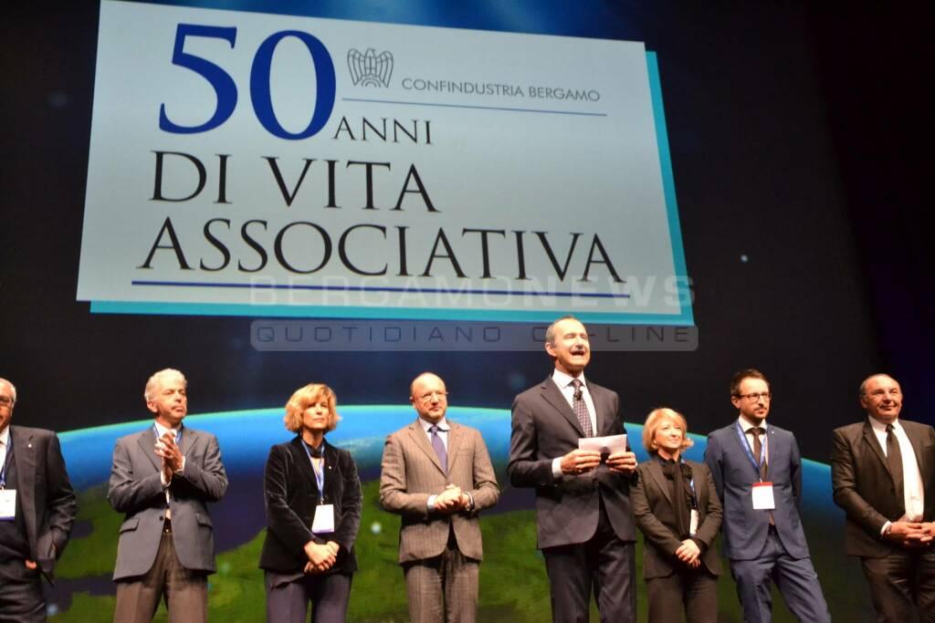 Confindustria Bergamo premia 5 aziende per i 50 anni di vita associativa