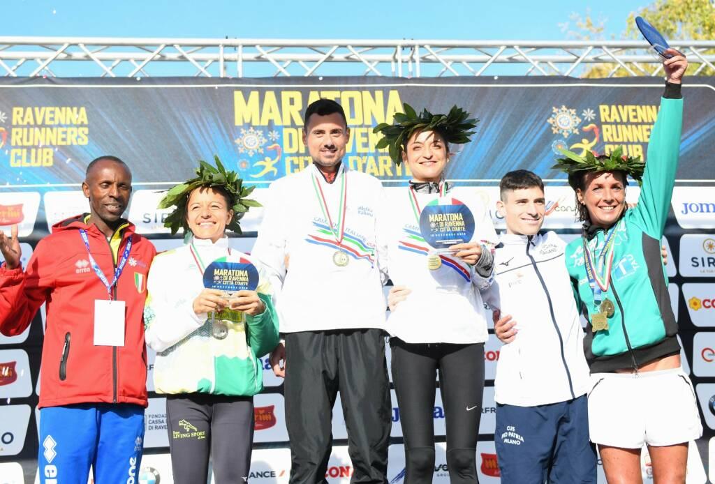 Eliana Patelli - Campionati Italiani Maratona 2019