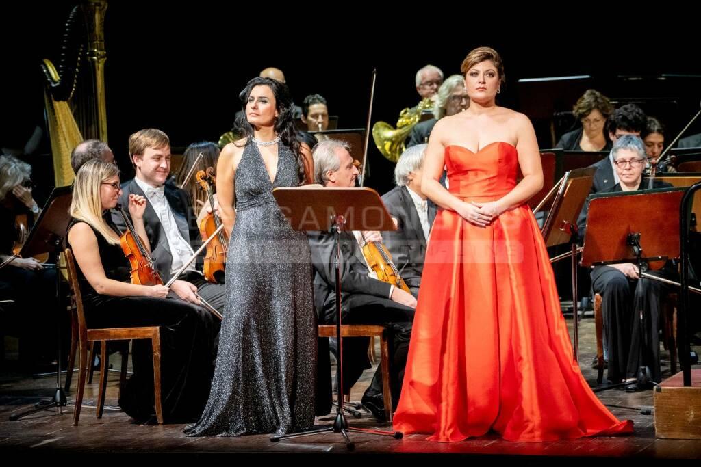 Gala inaugurale al Teatro Sociale di Bergamo (crediti Gianfranco Rota)