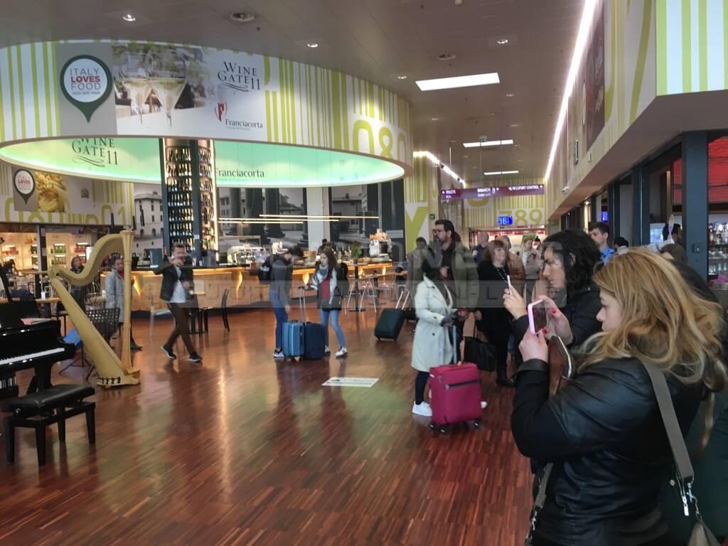 Lirica in aeroporto