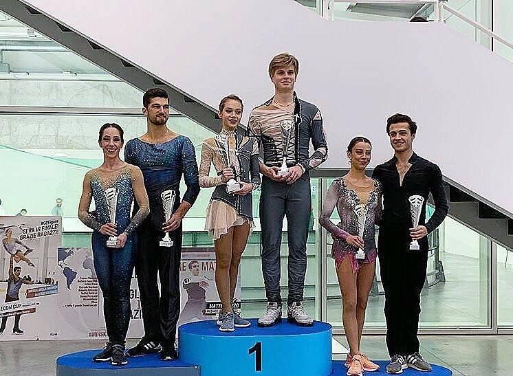 Nicole Della Monica/Matteo Guarise - IceLab International Cup 2019