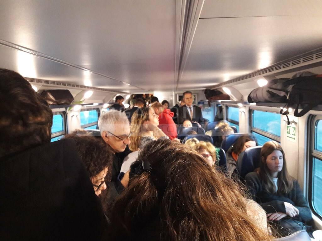 protesta treno