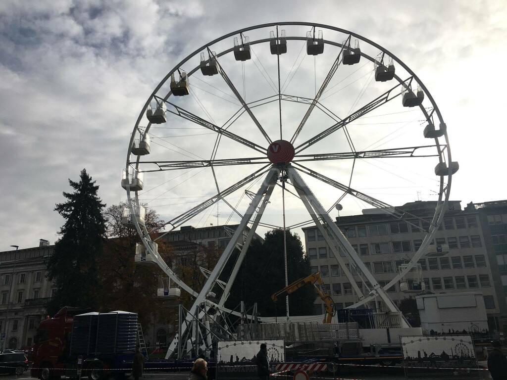 ruota panoramica bergamo 2019