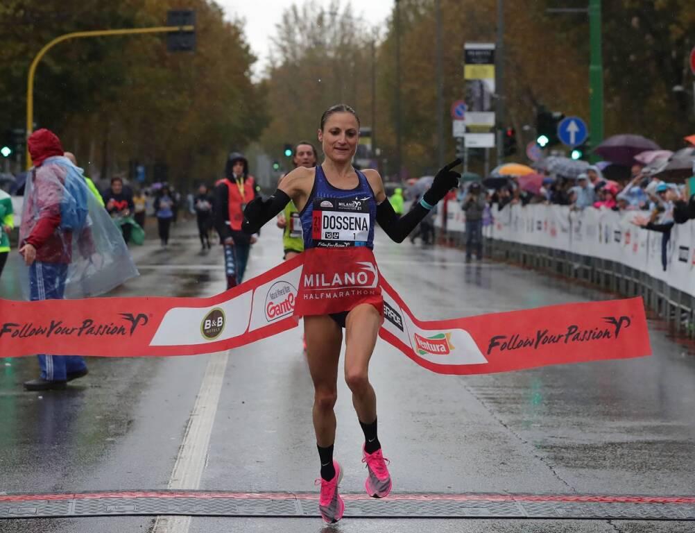 Sara Dossena - Ganten Milano21 Half Marathon 2019