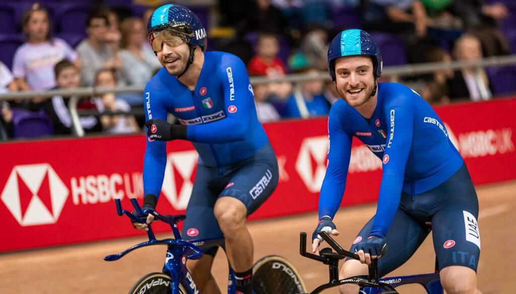 Simone Consonni - Coppa del Mondo Ciclismo su Pista 2019-2020