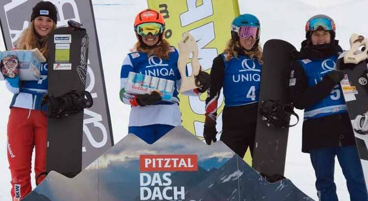 Sofia Belingheri - Coppa Europa Snowboard cross 2019