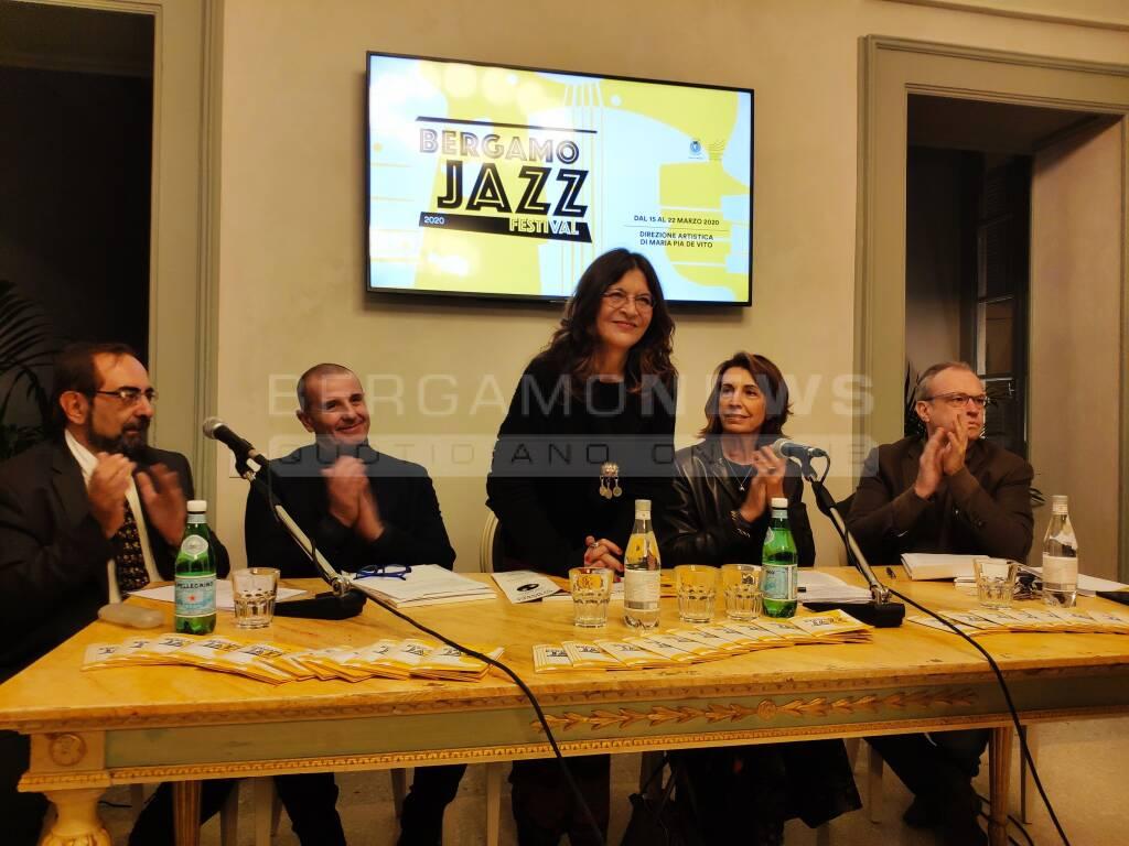 Bergamo jazz 2020 presentazione
