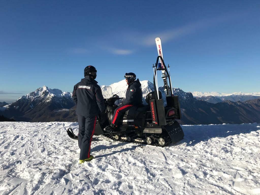 carabinieri sci montagna