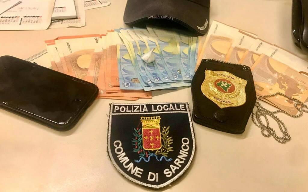 droga sarnico polizia locale