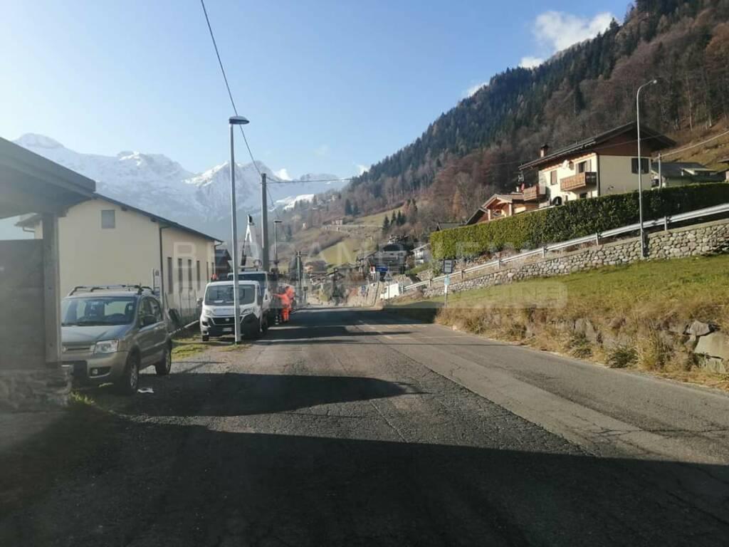 primo semaforo Val di Scalve