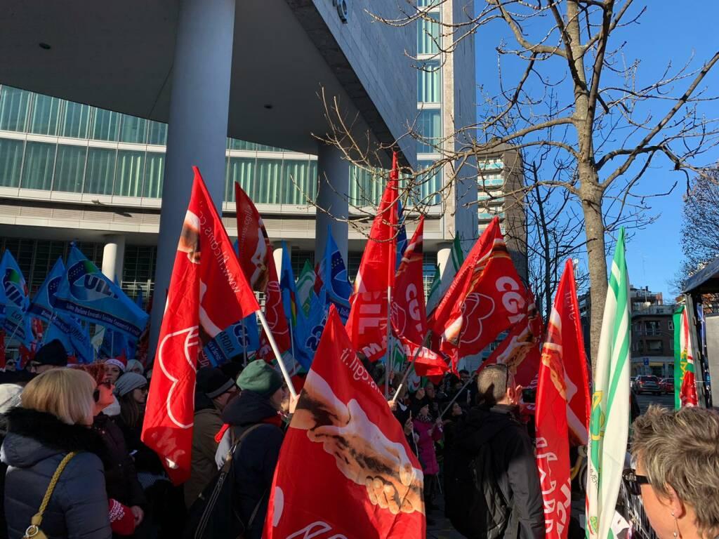sciopero Auchan