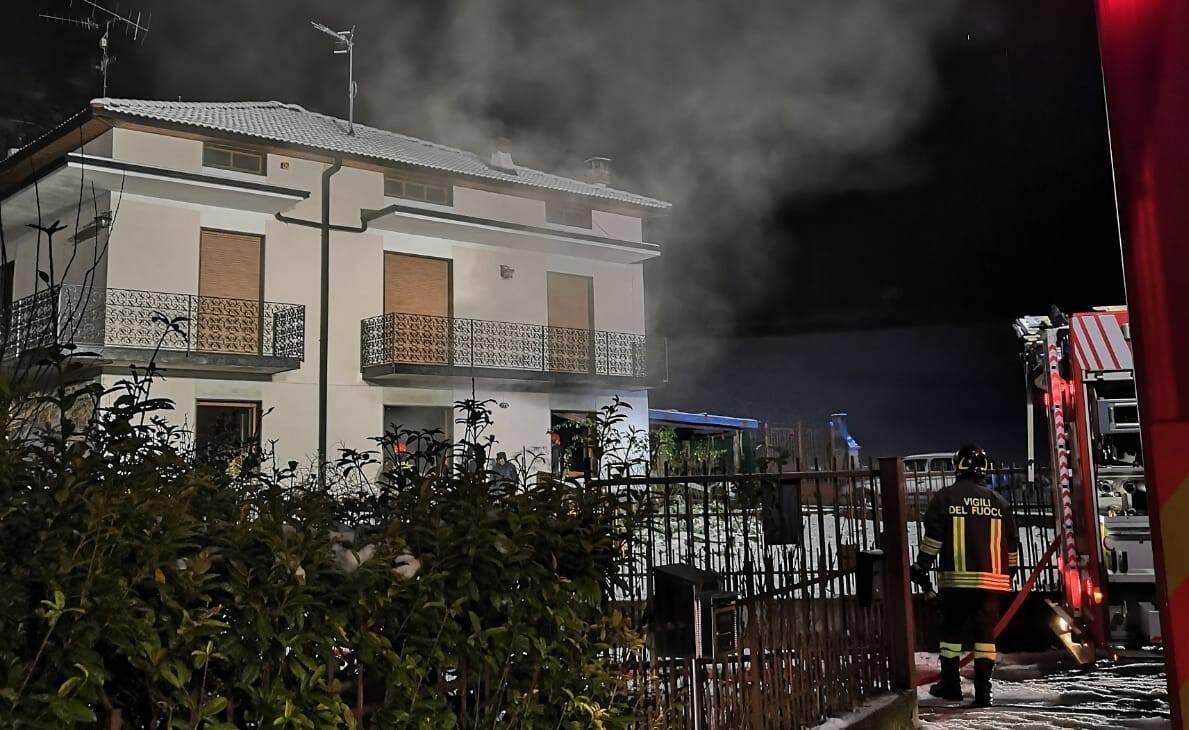 Incendio Casnigo