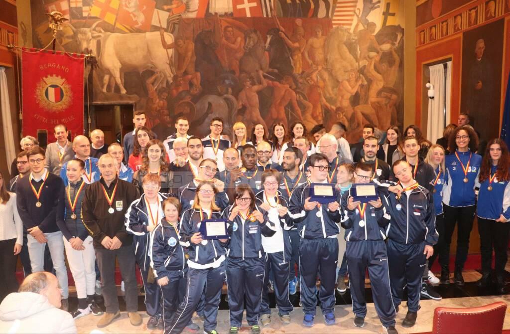 """Premio """"Città di Bergamo ai suoi atleti"""" 2019"""