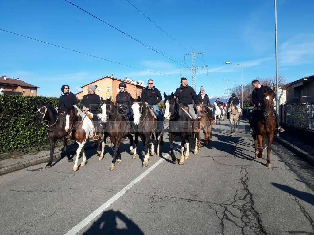 A Dalmine 97 cavalli per la 25esima festa di San'Antonio