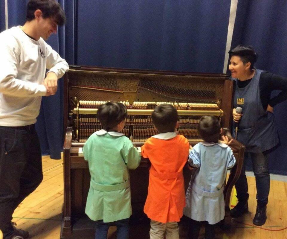 Alla scuola Imiberg è l'anno della musica