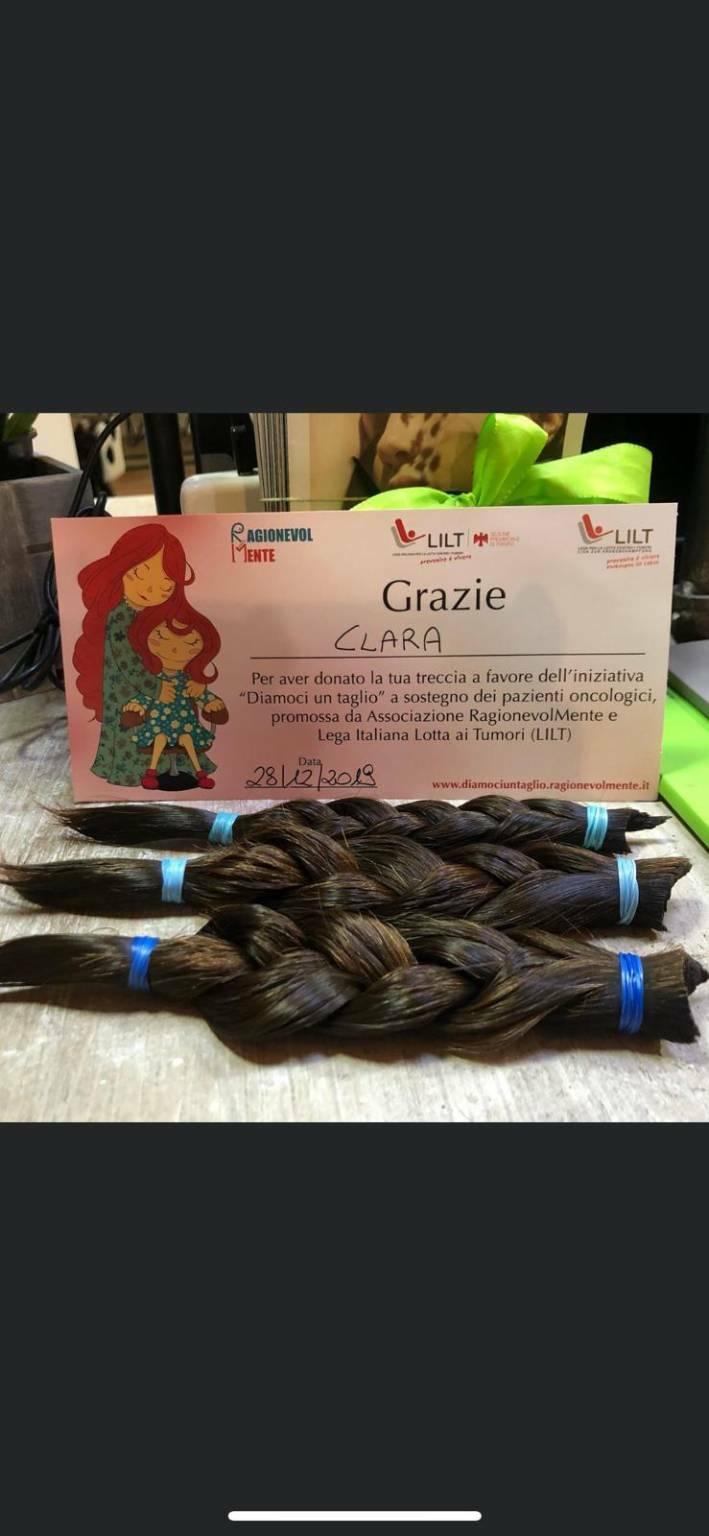 Anche Bergamo dona capelli con Pamela's Dream