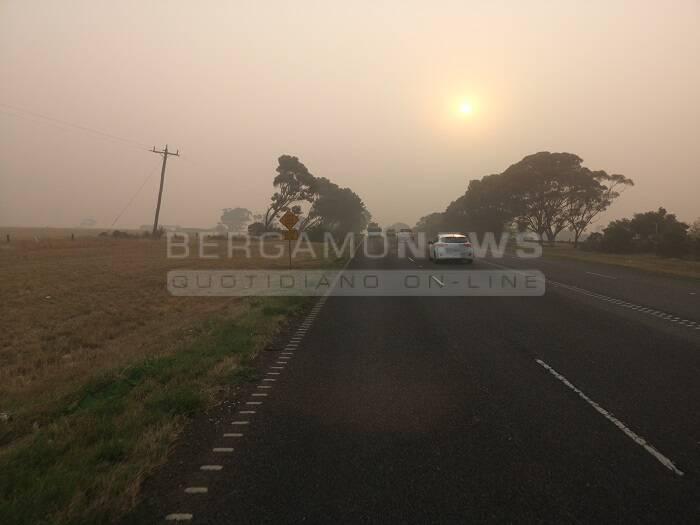 Australia che brucia