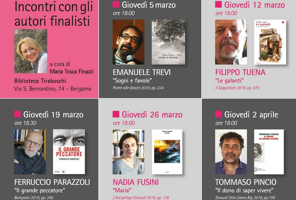 finalisti premio narrativa bergamo 2020