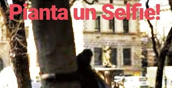 pianta selfie