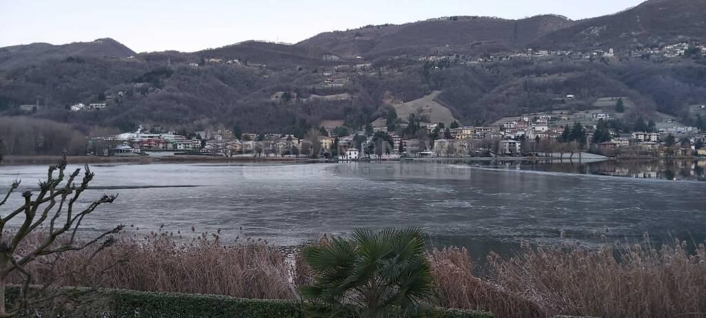 lago di endine ghiacciato 2020