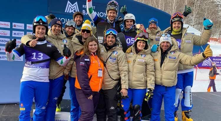Nazionale Italiana Snowboard Parallelo