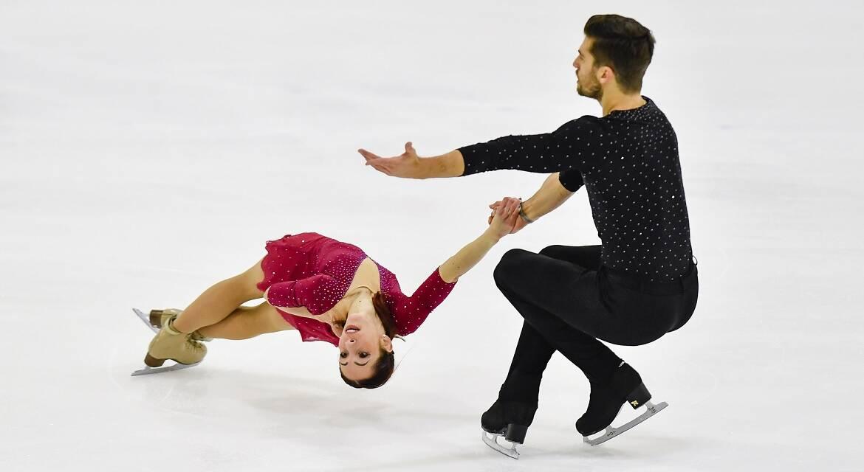 Nicole Della Monica e Matteo Guarise - Campionati Europei 2020
