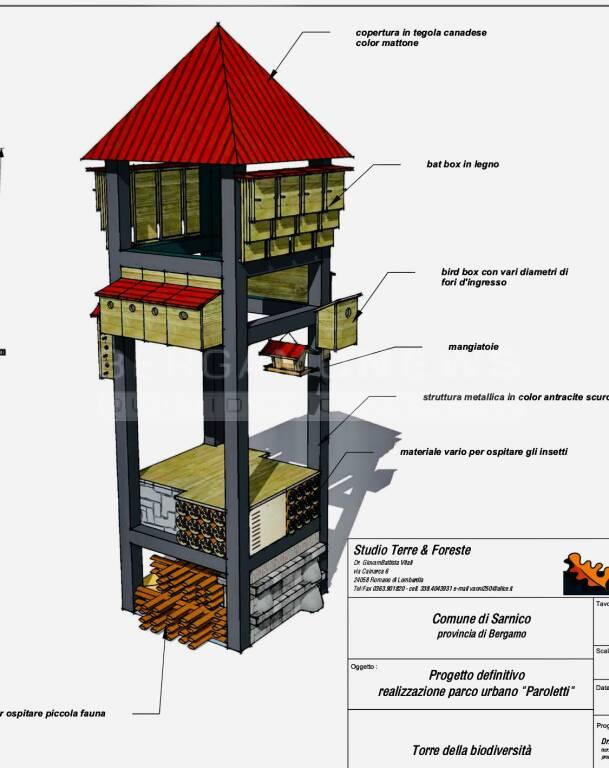 sarnico torre biodiversità