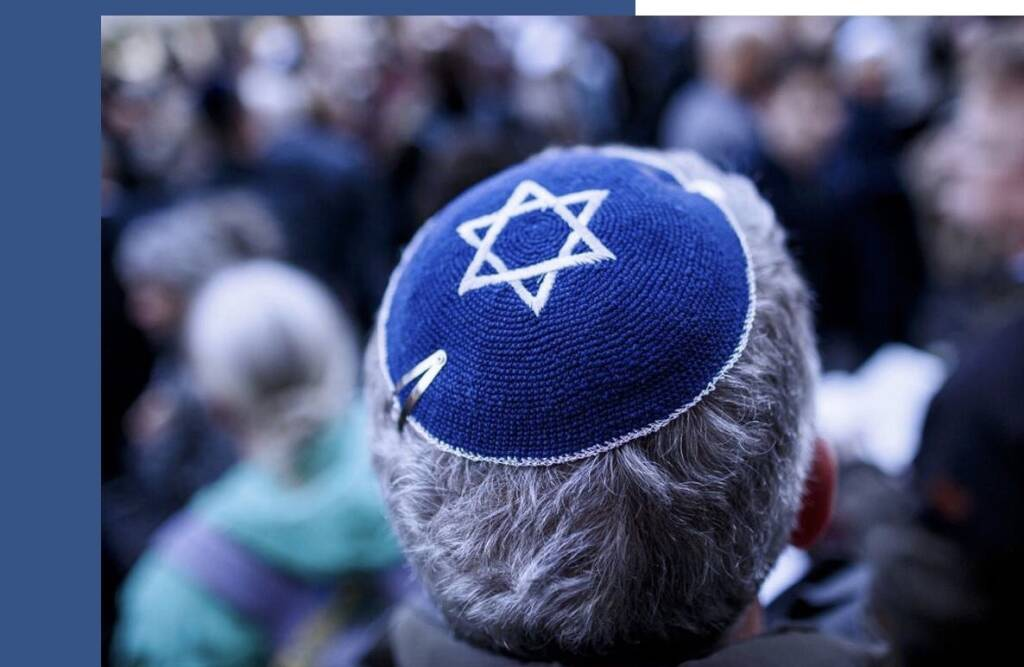 Simbolo ebrei kippah