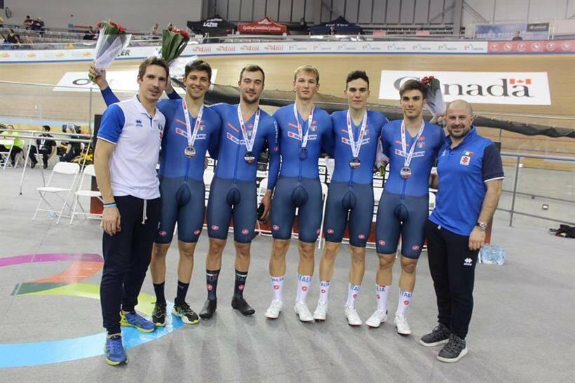 Stefano Moro - Coppa del Mondo Ciclismo su Pista 2020