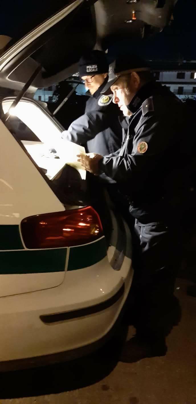 A Boltiere sindaco di pattuglia con la Polizia Locale