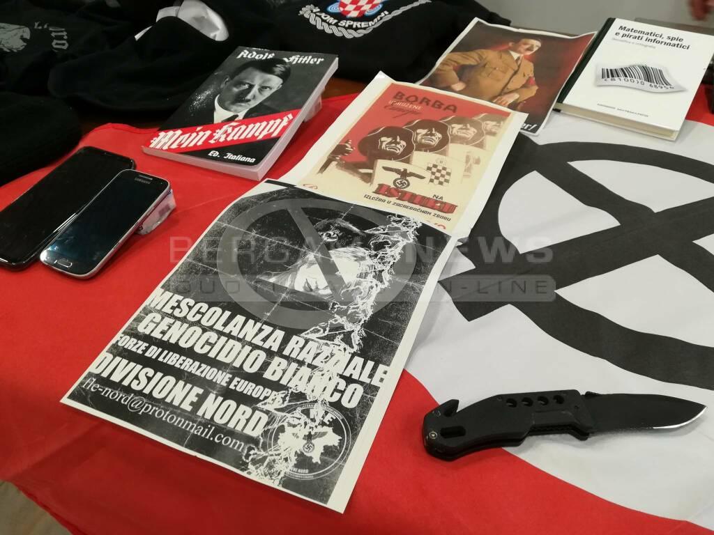 Arresto 22enne volantini xenofobi