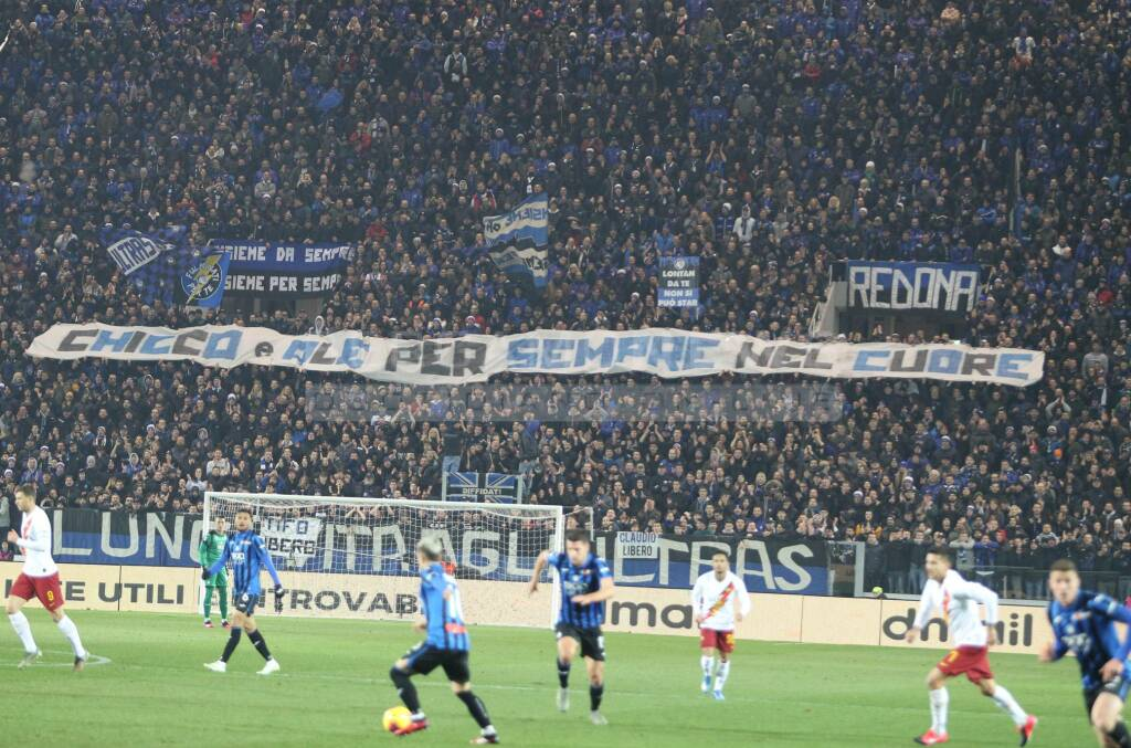 Atalanta-Roma 2-1: i tifosi
