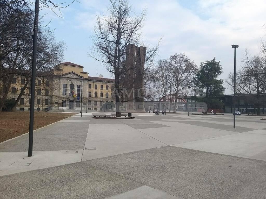 Bergamo, il nuovo Piazzale Alpini