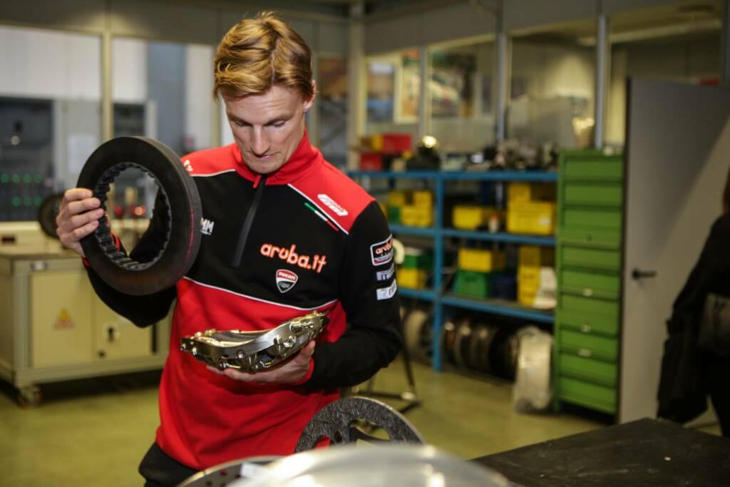 Chaz Davies, pilota ufficiale Ducati nel Mondiale Superbike