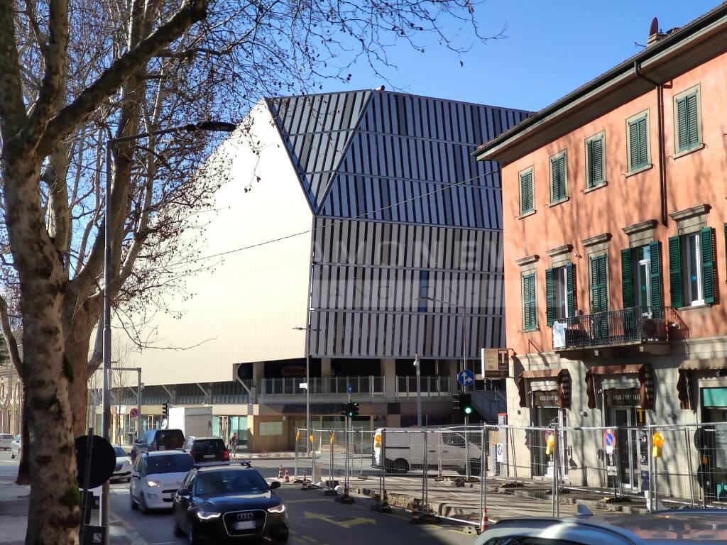 Curva Nord stadio di Bergamo