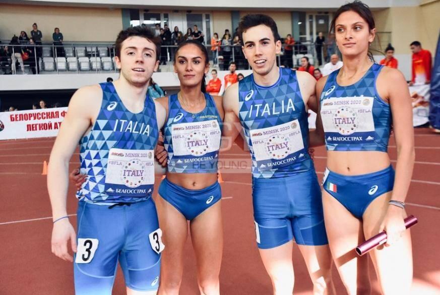 Federico Manini, Dalia Kaddari, Federico Guglielmi e Chiara Gherardi