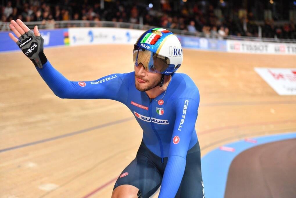 Filippo Ganna - Campionati del Mondo ciclismo su pista 2020