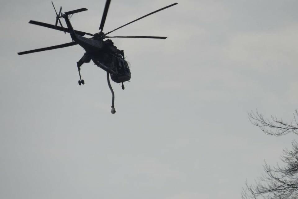 elicotteri incendio