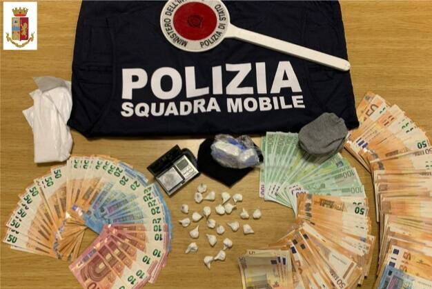 spacciatore arrestato