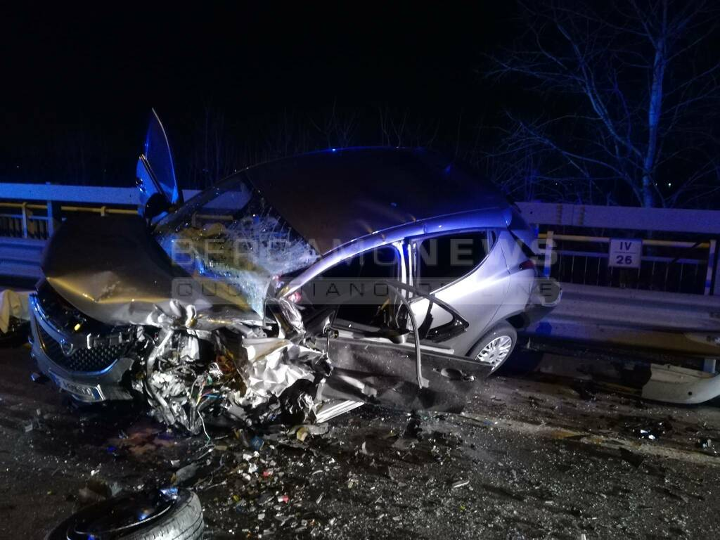 Incidente a Grassobbio, muore un uomo