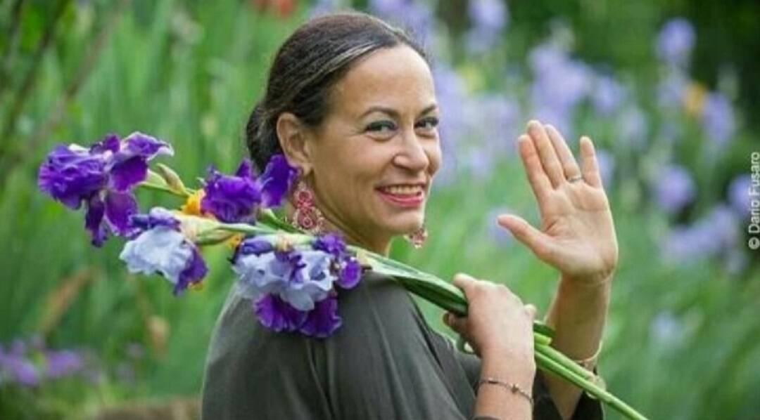 Le iris di Cristina Mostosi