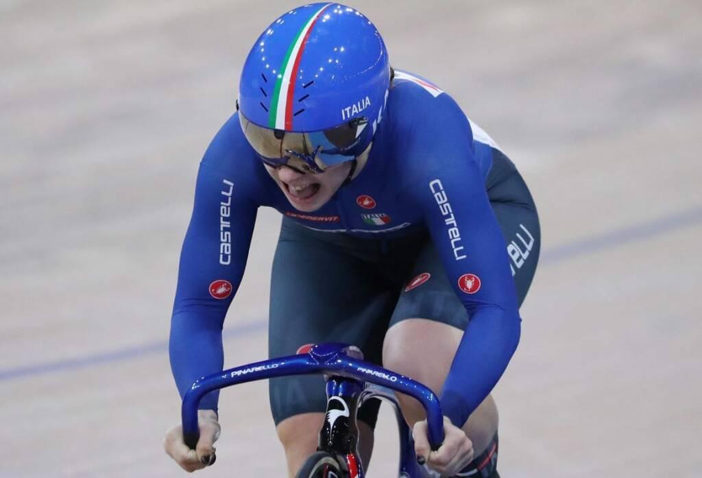 Miriam Vece - Campionati del Mondo di ciclismo su pista 2020