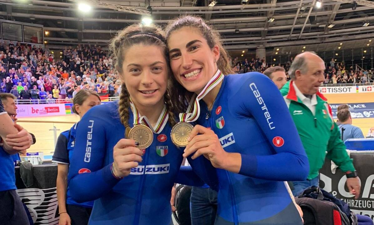 Miriam Vece e Elisa Balsamo - Campionati del Mondo di ciclismo su pista 2020